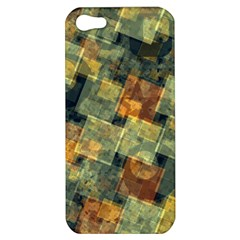 Stars circles and squares Apple iPhone 5 Hardshell Case