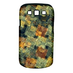 Stars circles and squares Samsung Galaxy S III Classic Hardshell Case (PC+Silicone)