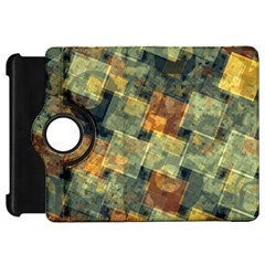 Stars circles and squares Kindle Fire HD Flip 360 Case