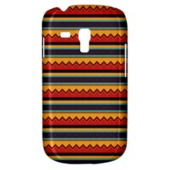 Waves and stripes pattern Samsung Galaxy S3 MINI I8190 Hardshell Case