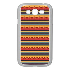 Waves and stripes pattern Samsung Galaxy Grand DUOS I9082 Case (White)
