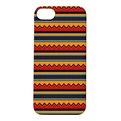 Waves and stripes pattern Apple iPhone 5S Hardshell Case