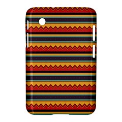 Waves and stripes pattern Samsung Galaxy Tab 2 (7 ) P3100 Hardshell Case