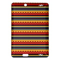 Waves and stripes pattern Kindle Fire HD (2013) Hardshell Case