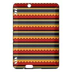 Waves and stripes patternKindle Fire HDX Hardshell Case