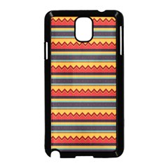 Waves and stripes pattern Samsung Galaxy Note 3 Neo Hardshell Case