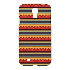 Waves and stripes patternSamsung Galaxy S4 I9500/I9505 Hardshell Case $10