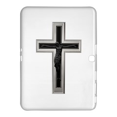 Red Christian Cross Samsung Galaxy Tab 4 (10 1 ) Hardshell Case