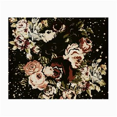 Dark Roses Small Glasses Cloth (2-Side)