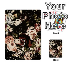 Dark Roses Multi Purpose Cards (rectangle)