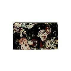 Dark Roses Cosmetic Bag (Small)