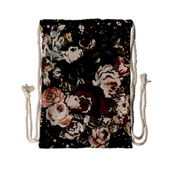 Dark Roses Drawstring Bag (Small)
