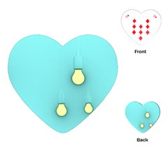 Bright Ideas Playing Cards (Heart)