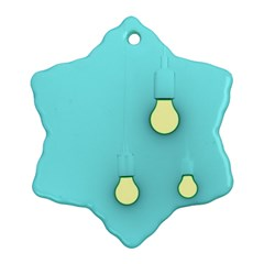 Bright Ideas Ornament (Snowflake)