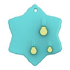 Bright Ideas Ornament (snowflake)