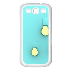 Bright Ideas Samsung Galaxy S3 Back Case (White)