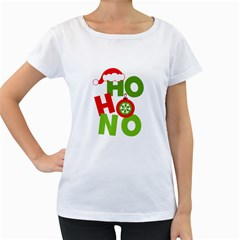 Christmas Women s Loose Fit T Shirt (white)