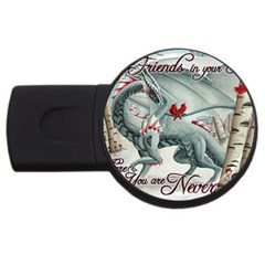 Lady Of The Fores Sts USB Flash Drive Round (4 GB)