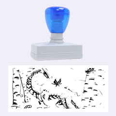 Lady Of The Fores Sts Rubber Stamps (large)
