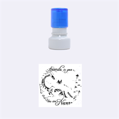 Lady Of The Fores Sts Rubber Round Stamps (Small)
