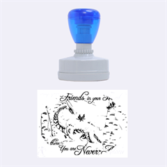 Lady Of The Fores Sts Rubber Oval Stamps