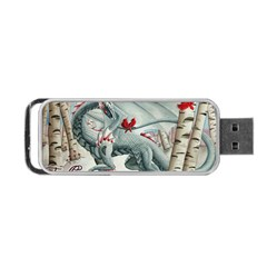 Lady Of The Fores Sts Portable Usb Flash (two Sides)