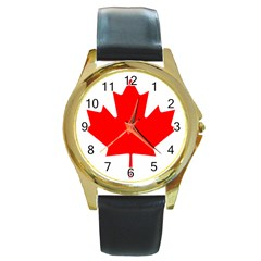Style 1 Round Gold Metal Watches