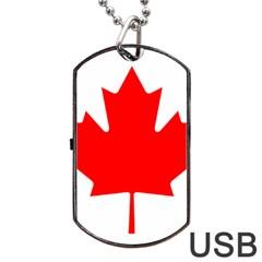 Style 1 Dog Tag USB Flash (One Side)