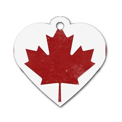 Style 3 Dog Tag Heart (One Side)