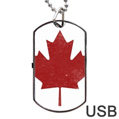 Style 3 Dog Tag USB Flash (One Side)