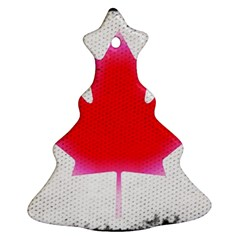 Style 5 Christmas Tree Ornament (2 Sides)