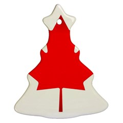Style 7 Christmas Tree Ornament (2 Sides)