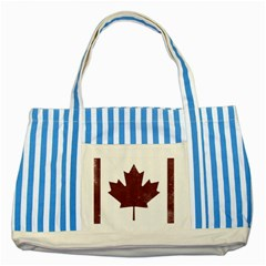 Style 8 Striped Blue Tote Bag