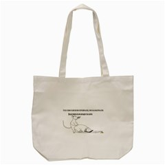 Better To Take Time To Think Tote Bag (cream)