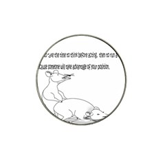Better To Take Time To Think Hat Clip Ball Marker (10 pack)