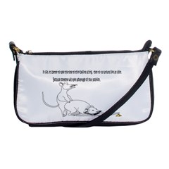 Better To Take Time To Think Shoulder Clutch Bags