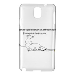 Better To Take Time To Think Samsung Galaxy Note 3 N9005 Hardshell Case