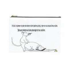 Better To Take Time To Think Cosmetic Bag (Large)