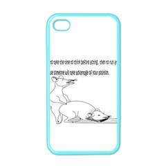 Better To Take Time To Think Apple iPhone 4 Case (Color)