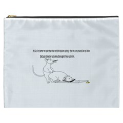 Better To Take Time To Think Cosmetic Bag (XXXL)