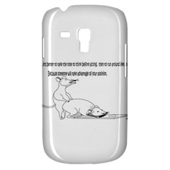 Better To Take Time To Think Samsung Galaxy S3 MINI I8190 Hardshell Case