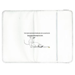 Better To Take Time To Think Samsung Galaxy Tab 7  P1000 Flip Case