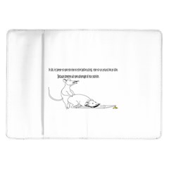 Better To Take Time To Think Samsung Galaxy Tab 10.1  P7500 Flip Case
