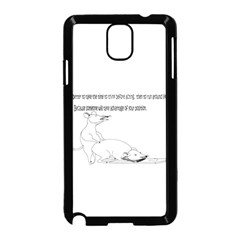 Better To Take Time To Think Samsung Galaxy Note 3 Neo Hardshell Case (Black)
