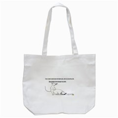 Better To Take Time To Think Tote Bag (white)