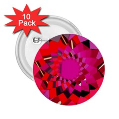Geo Fun 11 2.25  Buttons (10 pack)