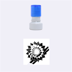 Geo Fun 11 Rubber Round Stamps (Small)