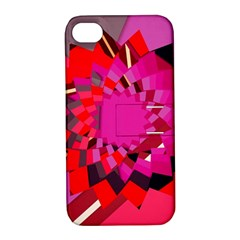Geo Fun 11 Apple iPhone 4/4S Hardshell Case with Stand
