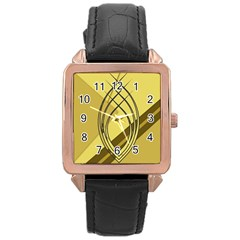 Geo Fun 12 Rose Gold Watches