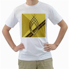 Geo Fun 12 Men s T-Shirt (White)